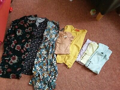 Maternity And Brestfeeding Clothes Bundle Size 8 /10 Or Xs/S 8 items