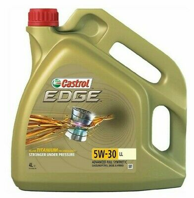 Castrol Edge 5W-30 4L LongLife VW Audi spec Fully Synthetic Car Engine Oil SEAT.