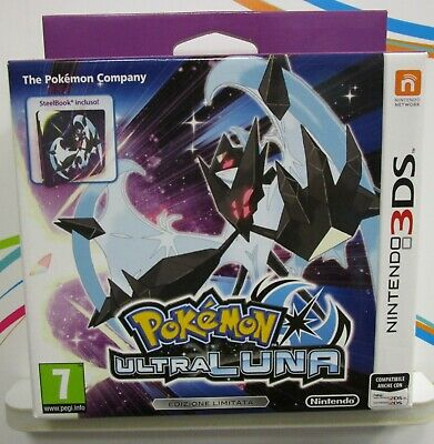Pokemon Ultraluna- Nintendo 3Ds - Nuovo