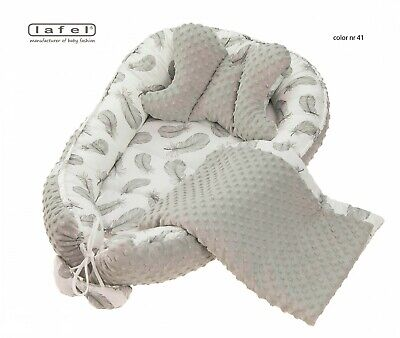Baby nest, Pod Nest Newborn Reversible Cocoon Bed Sleep Kokon Newborn Cushion