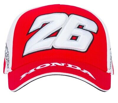Cap Baseball Hat Repsol Dani Pedrosa 26 MotoGP Dual Honda Adult Bike NEW! Red