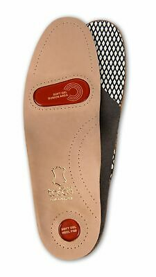 New Kanauk Mens Leather Insoles Shoes Boots Insoles Size womens size 5-6
