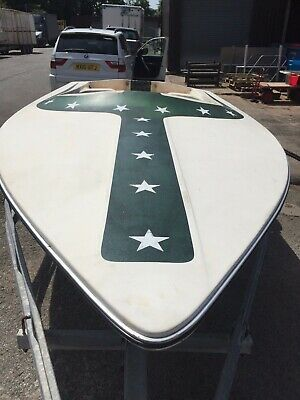 Mastercraft Jump Stunt Film Boat - very rare boat only one outside of America