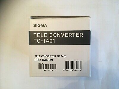 Sigma TC-1401 1.4x Tele-Converter for Canon
