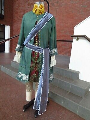 Late 17th-Early 18th century mens costume - Size M 1600s 1700s Cosplay Baroque