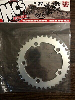 MCS BMX 110 CHAINRING USA MADE CNC 44T SILVER