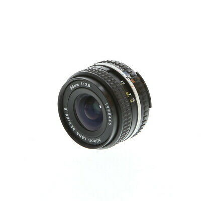 Nikon Nikkor 28mm F/2.8 Series E AIS Manual Focus Lens Wide-Angle {52} - BGN