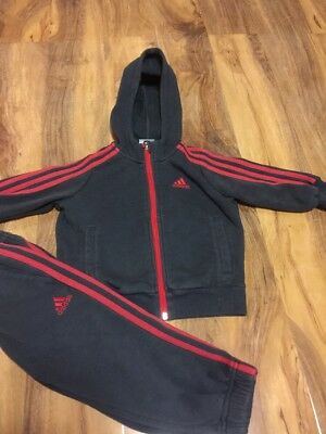 Adidas Boys Tracksuit Aged 1-2 Years Old