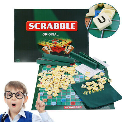Original Scrabble Board Game Puzzle Game Family Kids Adult Educational Toys Gift