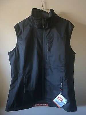HELLY HANSEN Womens Black Pace Supportive Singlet Sports Vest Size XS S M L BNWT