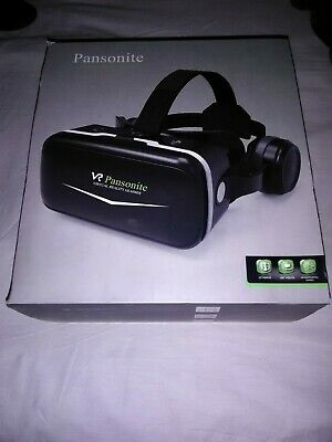 Pansonite VR Headset W/ Remote Controller 3d Glasses Virtual Reality