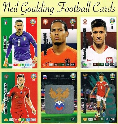 Panini EURO 2020 ☆ FANS / TEAM MATE ☆ Adrenalyn XL Football Cards #208 to #297