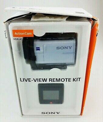 Sony HDR-AS300R HD Action Camera w/ Live-View Remote Kit In Box Excellent Shape