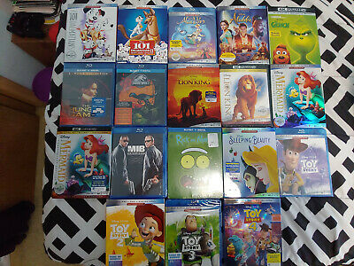 4K, Blu-Ray, Digital Codes! See description below! Great titles! New and used!!!