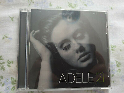 Adele - 21 - Adele CD Disc Perfect Rolling in the Deep Set Fire to the Rain