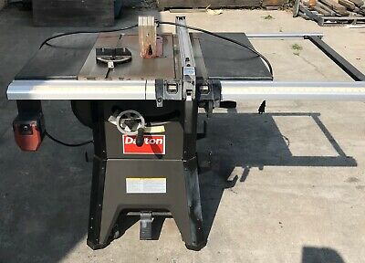 "USED    Dayton 10"" Contractor Table Saw 4KXD1  1.75 HP   120/240V  15/7.5A"