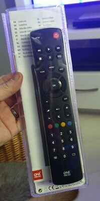 One For All TV Remote URC1210 Contour Universal Remote Control for TV, All Makes