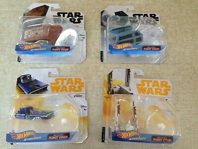NEW HOT WHEELS Lot of Starships Vehicle STAR WARS MANDALORIAN DISNEY NIB IN HAND