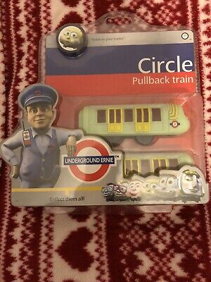 London Underground Ernie City Battery Operated Train New Free Postage