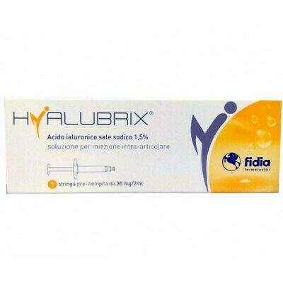 Hyalubrix 30Mg/2Ml  Siringa