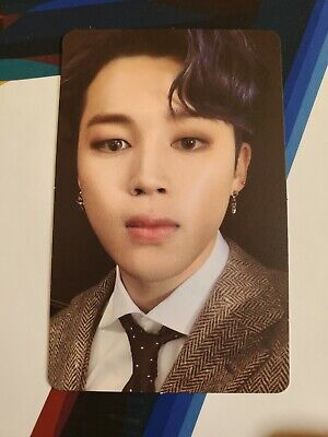 Jimin Official Photocard BTS Map Of The Soul : 7 Version 3 Genuine Kpop