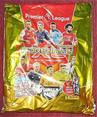 Panini Premier League 2019-20 Adrenalyn XL Starter Pack + 2 Limited Edition Card