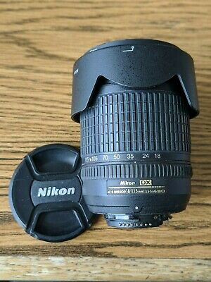 Nikon Zoom-NIKKOR 18-135mm f/3.5-5.6 AF-S DX IF G ED Lens