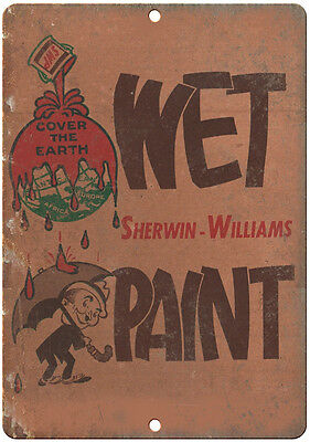 """1959 Sherwin Williams Paint It Is Our Honest Belief  Metal Sign 9x12/"""" A279"""