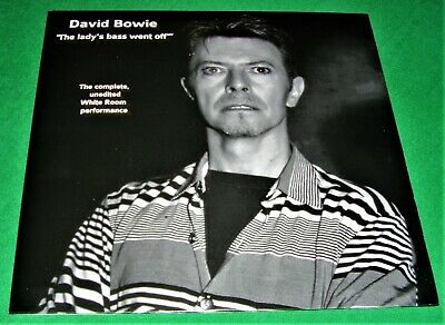 DAVID BOWIE: THE LADY'S BASS WENT OFF-WHITE ROOM Double LP NEW Mint