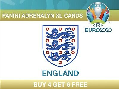 Panini UEFA Euro 2020 Adrenalyn XL Cards ENGLAND