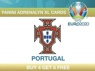 Panini UEFA Euro 2020 Adrenalyn XL Cards PORTUGAL