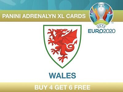 Panini UEFA Euro 2020 Adrenalyn XL Cards WALES