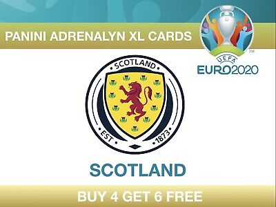 Panini UEFA Euro 2020 Adrenalyn XL Cards SCOTLAND