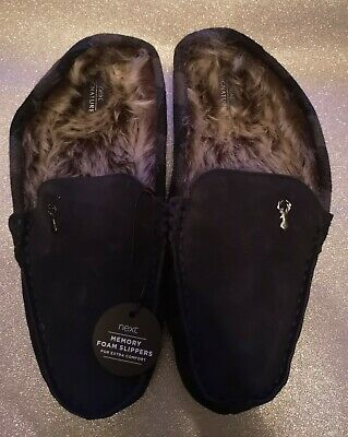 Men's Memory Foam Slippers, New From Next, Size 11