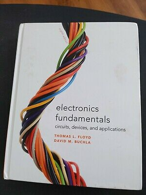 Electronic Fundamentals Buchla Floyd Textbook Hardcover Like-New see description