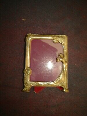 Art Deco Solid Brass Picture Frame
