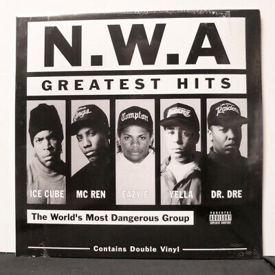 NWA 'Greatest Hits' Vinyl 2LP Dr Dre Eazy-ee Ice Cube NEW/SEALED