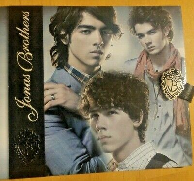 "Jonas Brothers 6"" x 6"" Photo Album Holds 80 photos"