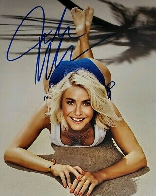 Julianne Hough Hand Signed 8x10 Photo W/ Holo COA