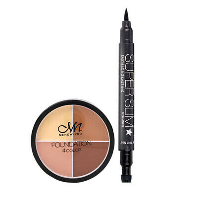 Menow Brand Make Up Set Waterproof Four-Color Concealer And Lasting Star Ey D3C3