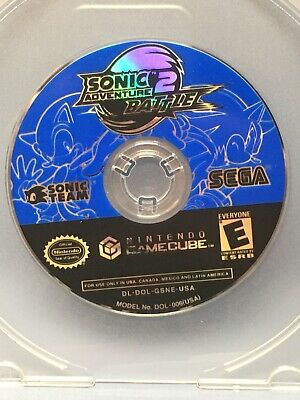 Sonic Adventure 2 Battle (GameCube, 2002) DISC ONLY excellent Condition