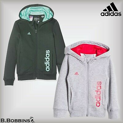 ⚽ SALE Adidas Climalite® Ess Hoodie Age 5-6-7-8-9-10-11-12-13-14-15 Years Girls