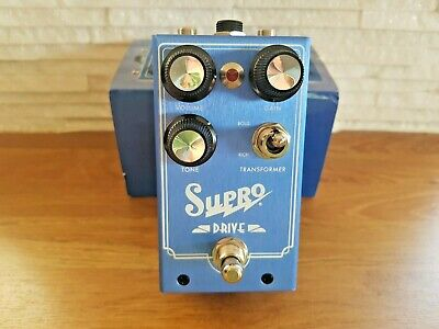 Supro 1305 Drive Guitar Overdrive Pedal - Boxed