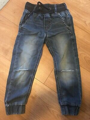 Boys H&M Ripped Knee Jeans Age 4-6
