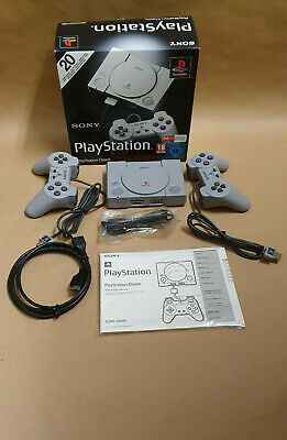 Sony Playstation Classic (mini) SCPH-1000R inkl. 20 Spiele + 2 Controller HDMI