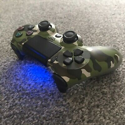 OFFICIAL PS4 v2 Controller Green Cameo Wireless Dualshock