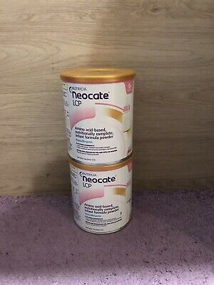 Nutricia Neocate LCP 0+ Months 400g X2 Tins
