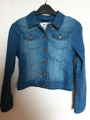Girls denim jacket age 11-12 TU