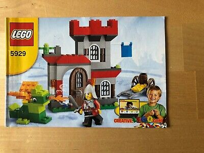 Lego Knight And castle Set 5929