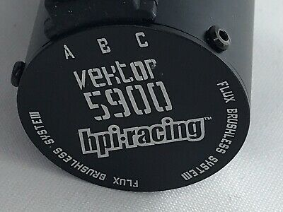 Hpi Flux Vektor 5900kv Brushless Motor. New/other UK Stock